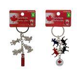 Canada Souvenir Metal Keychains - 2
