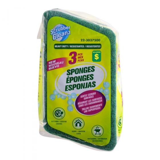 3PK Scrub Sponges