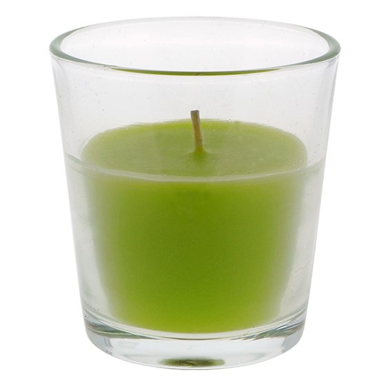 Scented Candle in Glass Jar (Assorted Aromatic Scents)
