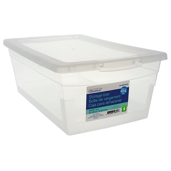 6L Storage Box with Cover