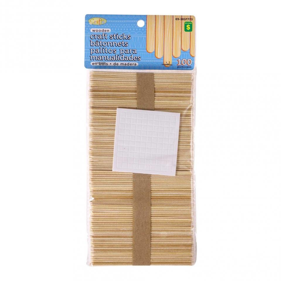 Craft Sticks 100PK