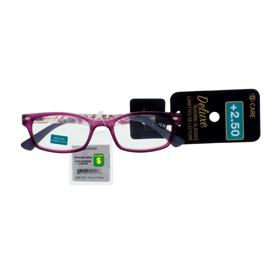 Reading Glasses +2.5 Diopter