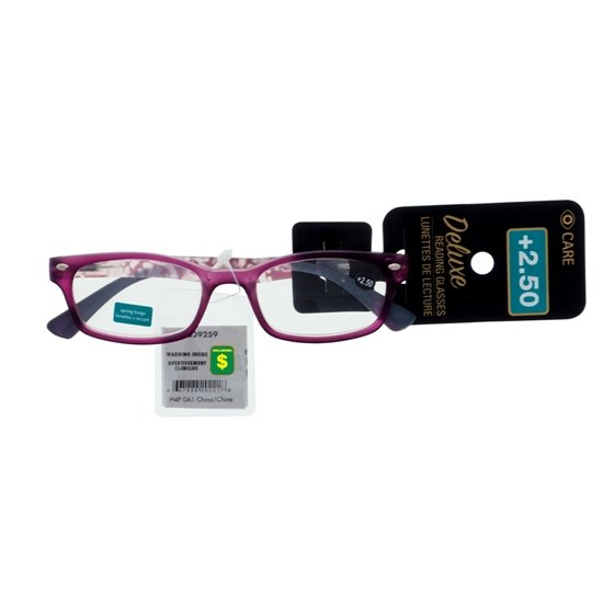 Lunettes de lecture +2,5 dioptries (Styles assortis)