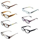 Reading Glasses +2.5 Diopter (Assorted Styles) - 2