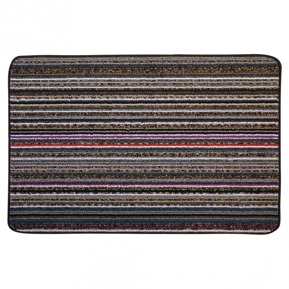 Candy Striped Floor Mat