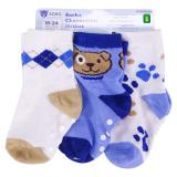 3PR Infant Socks (Assorted Patterns) - 0