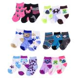 3PR Infant Socks (Assorted Patterns) - 1