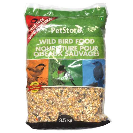 Nourriture pour oiseaux sauvages