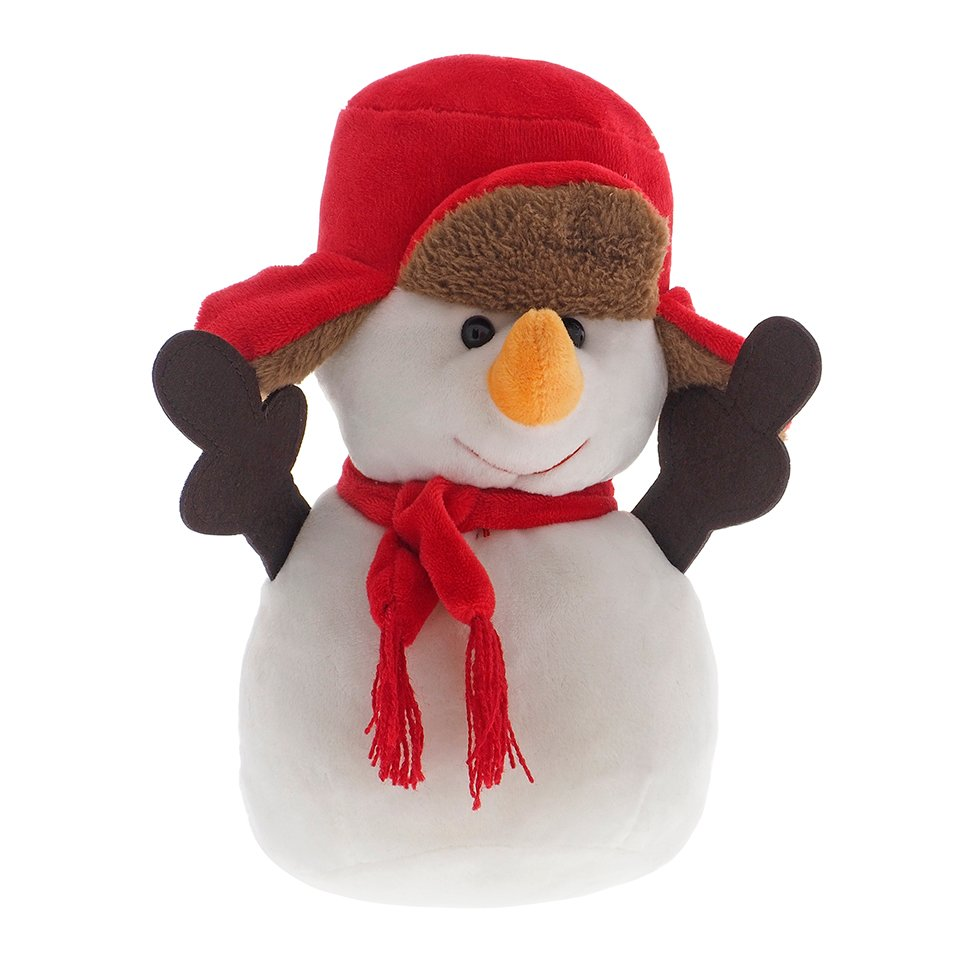 Assorted Christmas Plush Characters