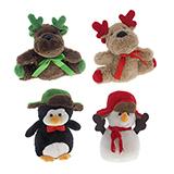 Assorted Christmas Plush Characters - 3