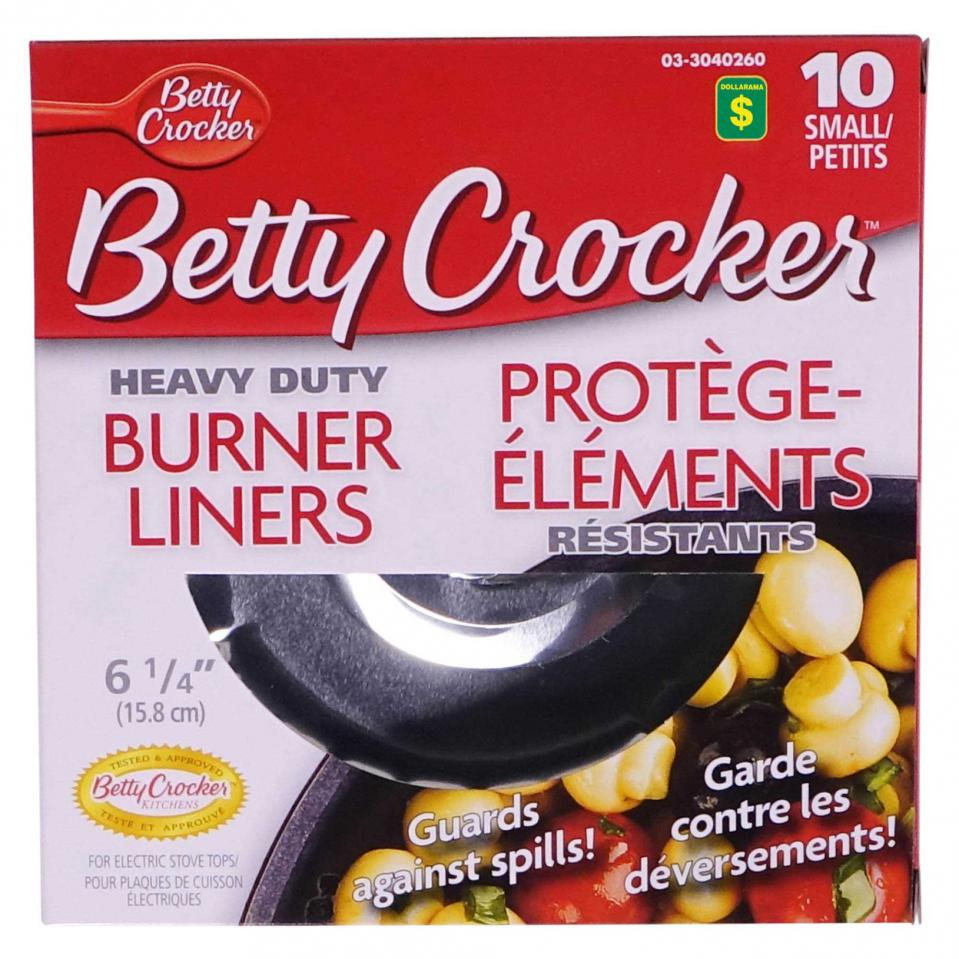 10PK Small size Burner Liners