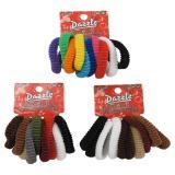 Fashion Hair Elastics (Assorted colours) - 2