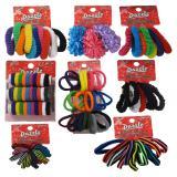 Fashion Hair Elastics (Assorted colours) - 3