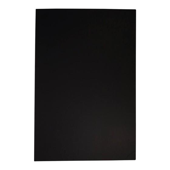 Panneau de mousse noir