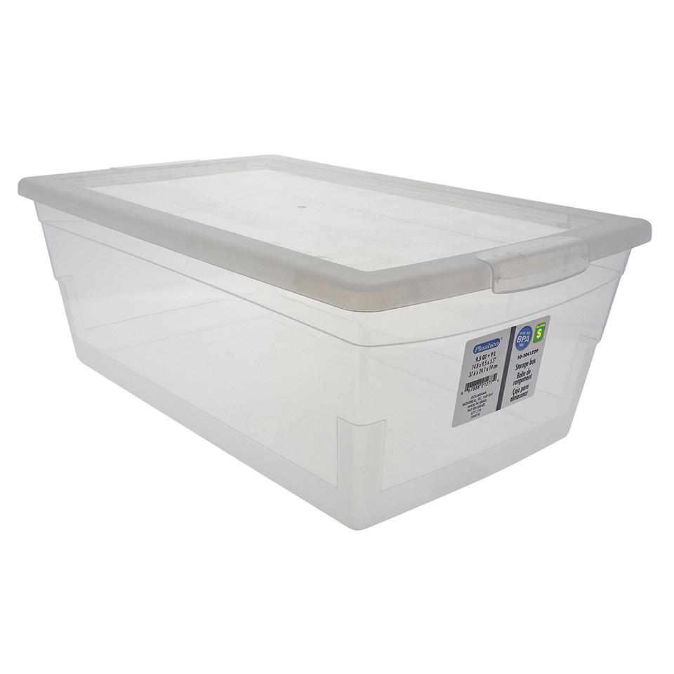 Boîte de rangement avec couvercle 9L