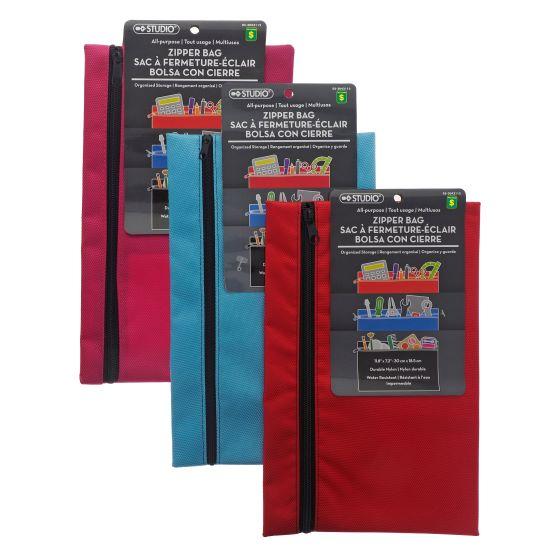 All Purpose Canvas Zipper Bag