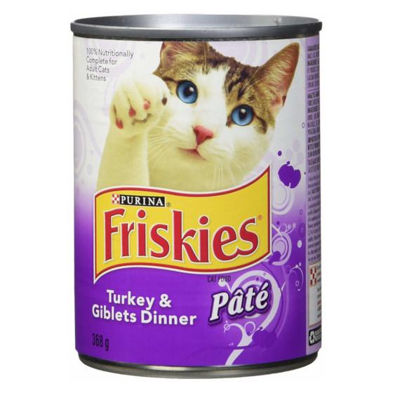 Repas de dinde et abats Friskies pour chats