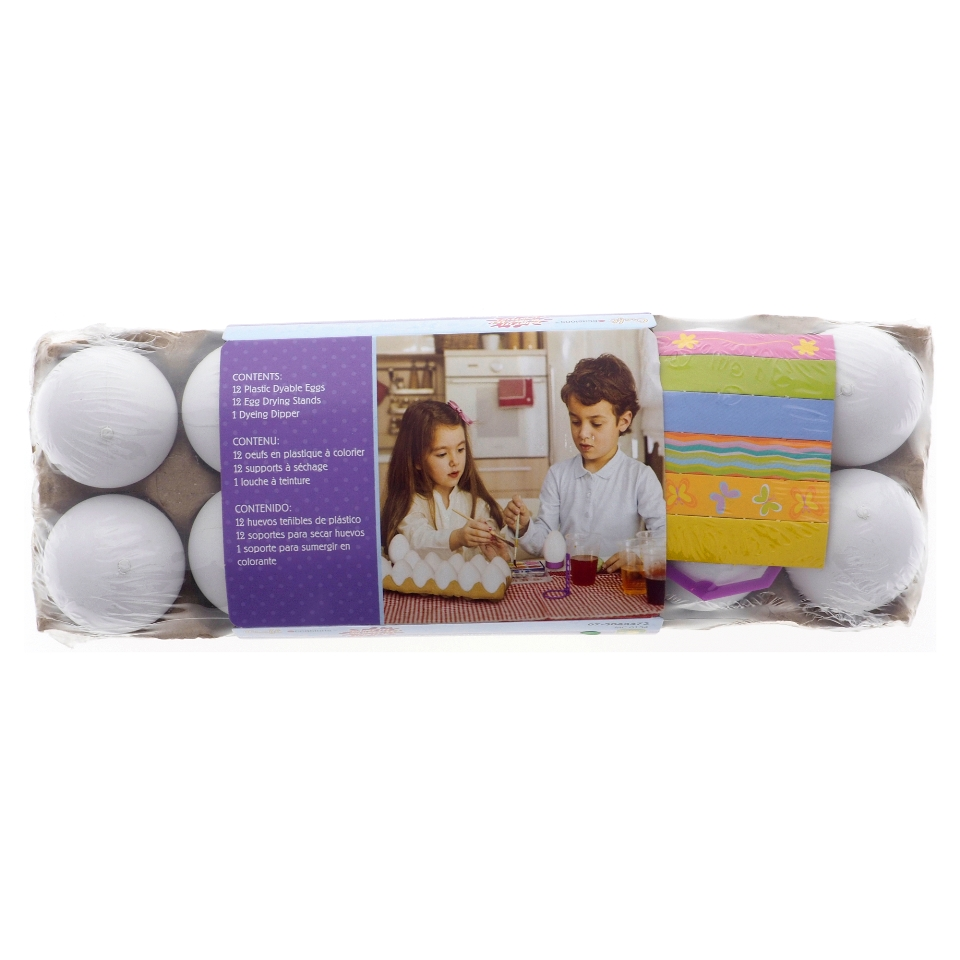 12 PK Egg Decorating Kit