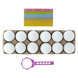 12 PK Egg Decorating Kit - 2