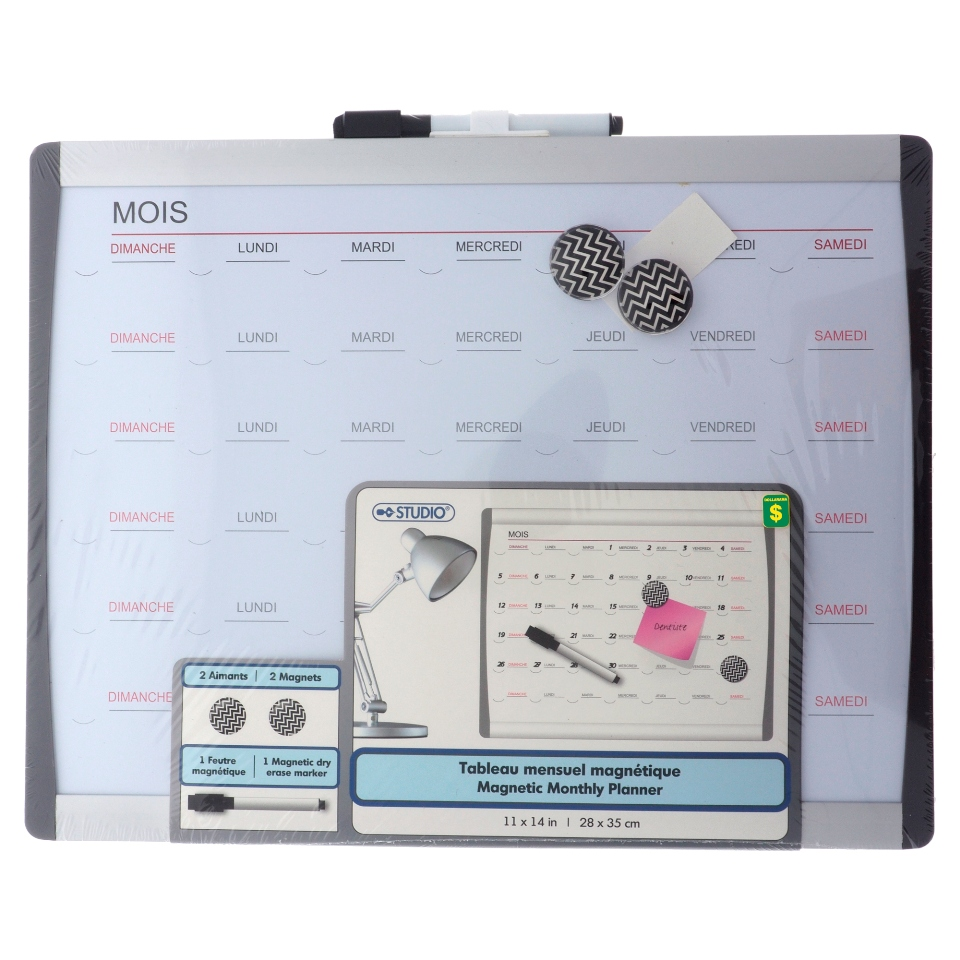 Magnetic Dry Erase Board (Assorted designs)