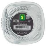 Bocal en verre avec étiquette noire et couvercle en métal (Couleurs assorties) - 3