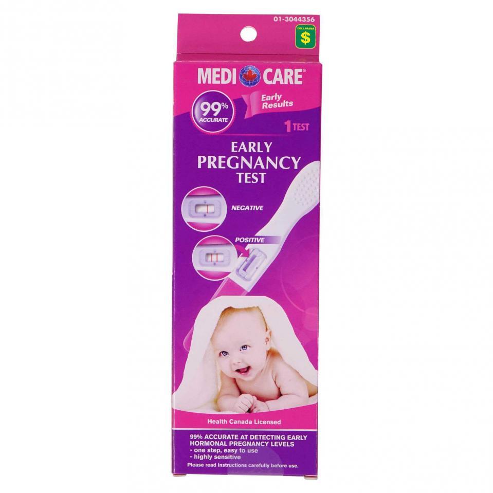 Test de grossesse précoce