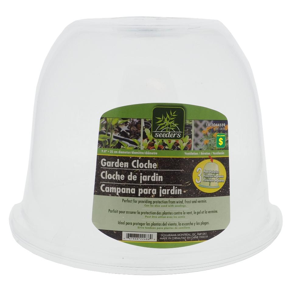 3Pk Plastic Plant Protector Cloches
