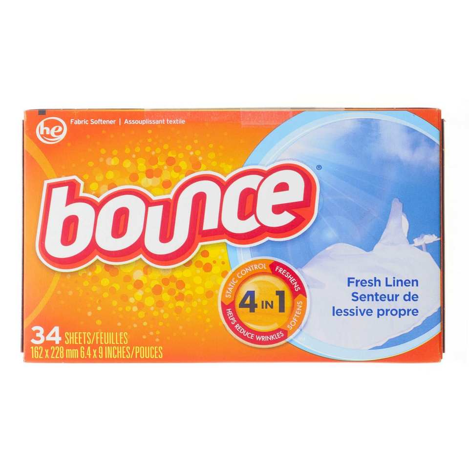 34 Sheet Fabric Softener