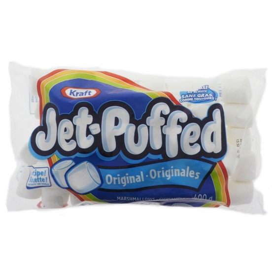 Guimauves Jet-Puffed originales