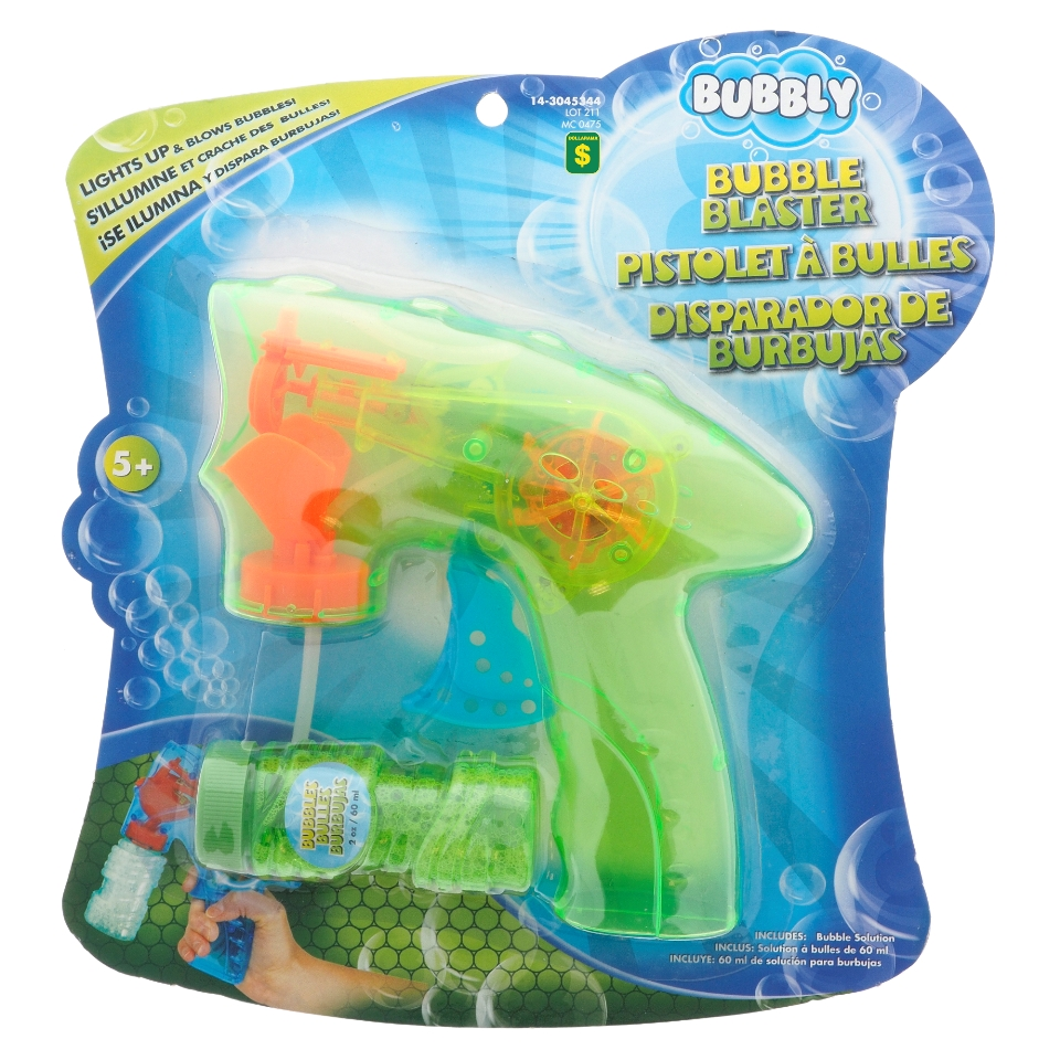 Bubble Blaster W/Continuous Bubbles & Lights