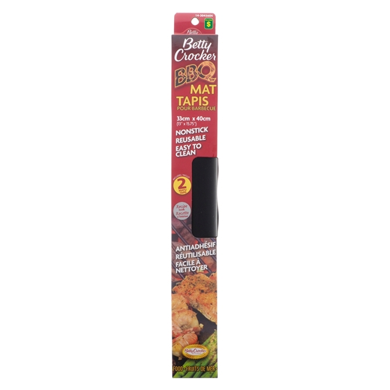 Betty Crocker 2PK Nonstick Reusable BBQ Mat