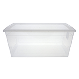 15L Storage Box with Cover - 0