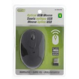 Optical USB Wireless Mouse - 0