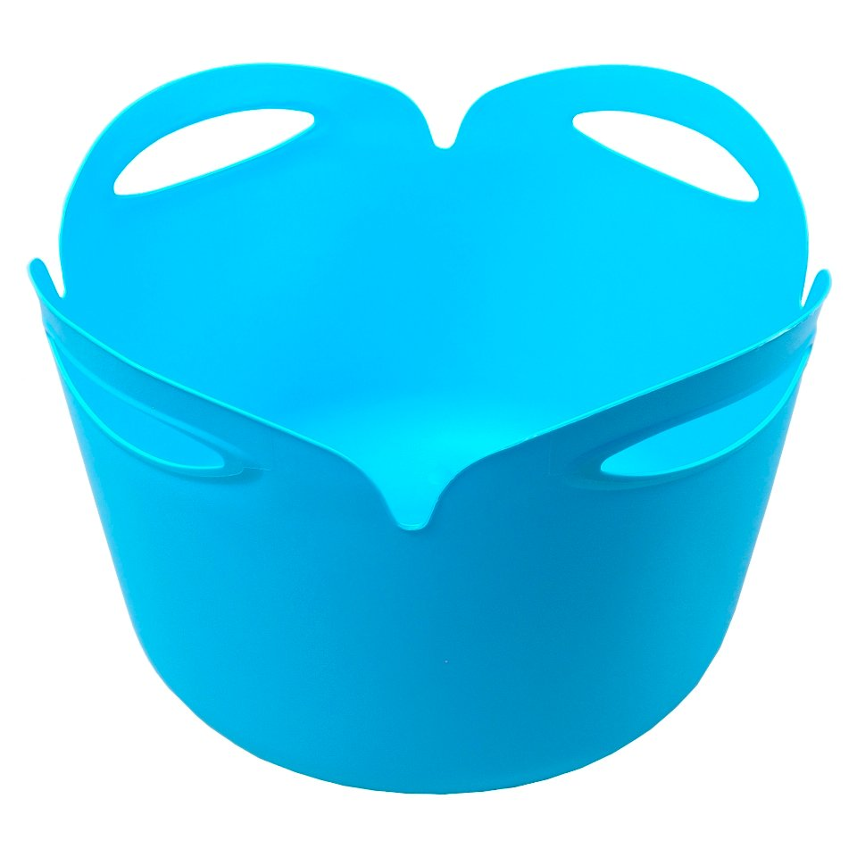 Round Pail with 4 Handles