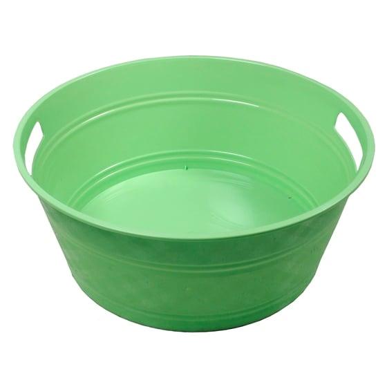 Large Round Plastic Tub
