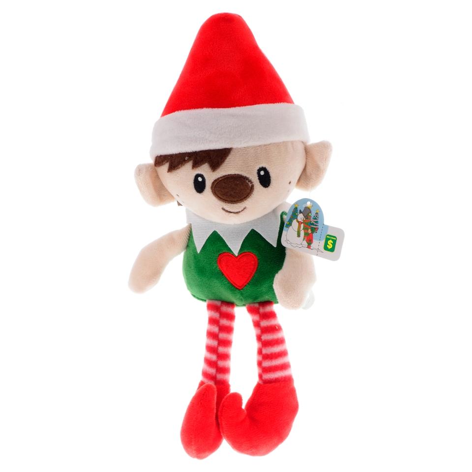 Elfe de Noël en peluche (Couleurs assorties)