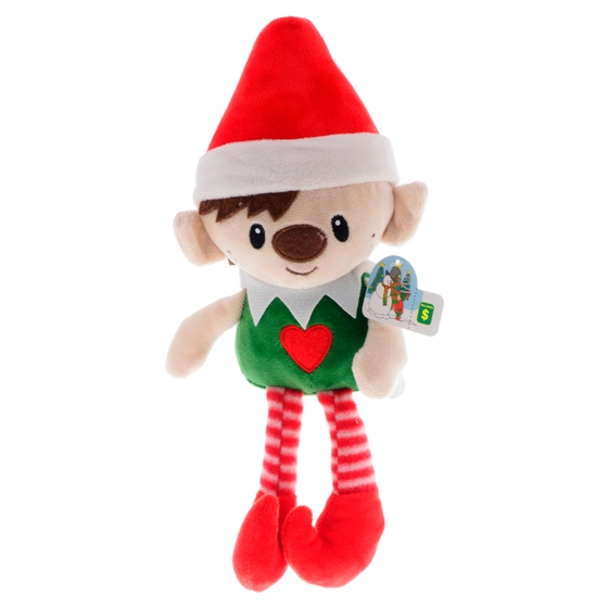 Elfe de Noël en peluche (Couleurs assorties)