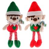 Elfe de Noël en peluche (Couleurs assorties) - 1