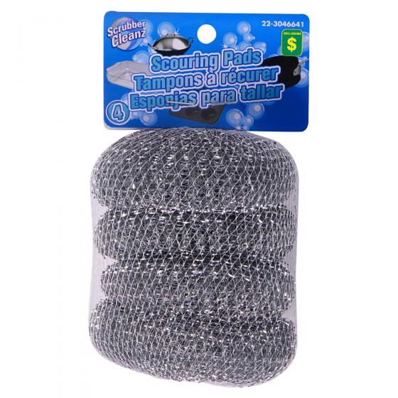 4PK Scouring Pads