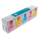 10PK of 10 Tissues Pocket Size (Assorted designs) - 1