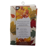 Fall Printed Flannelback Vinyl Tablecover - 0