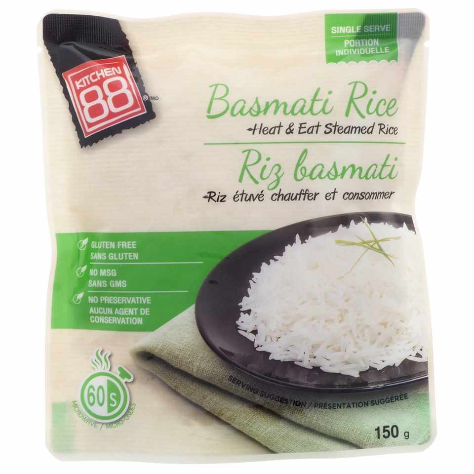 Heat and Eat Steamed Basmati Rice