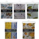 Rectangular Printed Polyester Tablecloth (Assorted designs) - 1