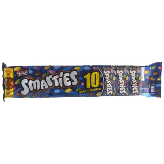 10 Smarties format collation