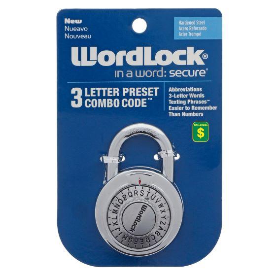 Colored Letter Combination Lock
