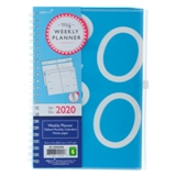 Weekly-Monthly Planner Notebook with Tabs - English - 0