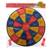 Felt Target Board with Velcro Darts and Balls - 0