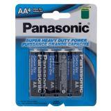 5 Piles carbon zinc AA - 0