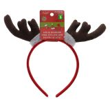 Felt Headband With Reindeer Antlers - 1