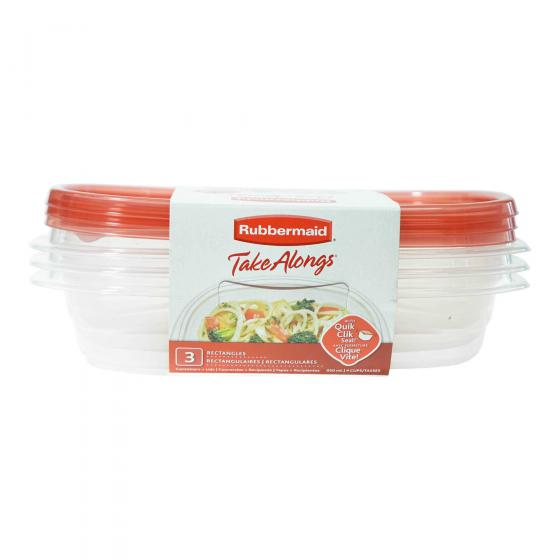 3PK Food Containers
